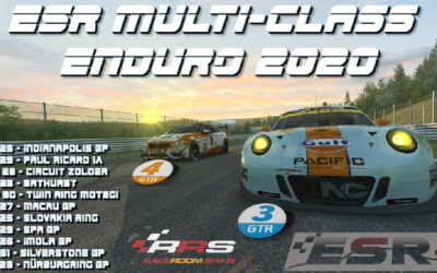 ESR GT3/GT4 MULTICLASS ENDURO